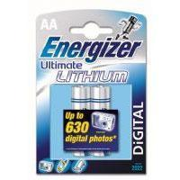 Wholesale Energizer Ultimate Lithium AA Batteries L91 1.5V Pack of 2 from china suppliers