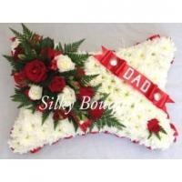 """Wholesale Funerals & Memorials Large Chrysanthemum Pillow Tribute 18"""" from china suppliers"""