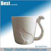 Wholesale Ceramic mug ceramic cat mug from china suppliers