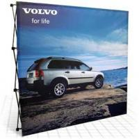 China Fabric Pop Up Banner Stands 10ft fabric pop up banner stands on sale