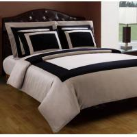 Wholesale Black And Taupe Hotel Egyptian Cotton Down Alternative Bed In A Bag from china suppliers