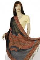 Wholesale Hand-Loomed Jamavar Wool Wrap from china suppliers