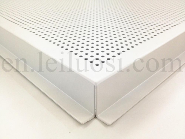 595 595mm perforated aluminum ceiling tile of item 42051769 for Individual ceiling tiles for sale