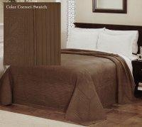 Wholesale French Tile Chocolate Bedspread from china suppliers