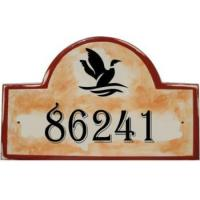 Wholesale loon address and house number plaques from china suppliers