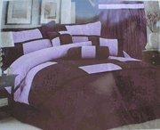 Wholesale High Quality Micro Suede Comforter Set bedding-in-a-bag, purple - lavender from china suppliers