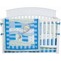 Wholesale Dr. Seuss Blue Oh! The Places You'll Go 4 Piece Crib Bedding Set from china suppliers