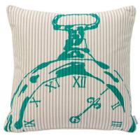 Wholesale Bedroom BECKY BROOME TURQUOISE & BEIGE POCKET WATCH FEATHER & COTTON CUSHION from china suppliers