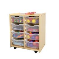 Natural Interchangeable Bin Storage S624 M624 J624