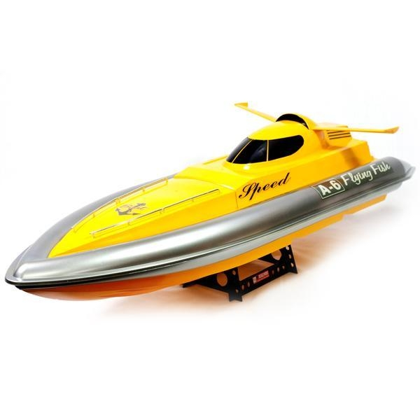 Radio controlled boats 38 inch flying fish electric rc for Rc fishing boat for sale