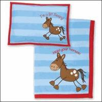 Wholesale Baby & Kids Gifts, Games & Plush Stephen Joseph Horse Fleece Blanket and Pillow Set *Retired* from china suppliers