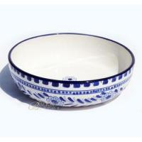 Wholesale Hand-made Wide Salad/Pasta Ceramic Bowl from china suppliers