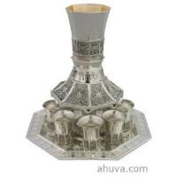 Wholesale Judaica Silver Plated Wine Fountain from china suppliers