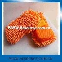 Wholesale microfiber wash pad &sponge microfiber chenille sponge from china suppliers