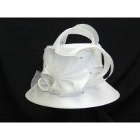 Wholesale Church Hats For Women in White H6166 from china suppliers