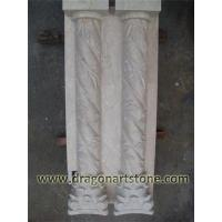 Wholesale Stone Type Carved stone roman column  [ Roman Column ] from china suppliers
