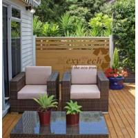 Wholesale Composite Fence with Trellis Style from china suppliers