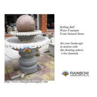 Wholesale Water Garden Granite Floating / Rolling Sphere Fountain from china suppliers