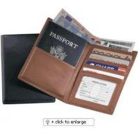 Passport Wallet Leather Cover ID Holder Cases