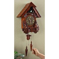 Wholesale Anniversary Clocks Kassel Hand carved Cuckoo Clock from china suppliers