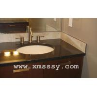 Wholesale Black bathroom granite countertop from china suppliers