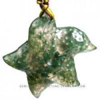 Wholesale Wholesale starfish moss agate pendant-NYAN0193 from china suppliers