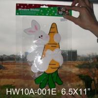 Wholesale Window sticker Easter Ornaments easter decoration from china suppliers