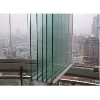 Wholesale aluminum frameless balcony window from china suppliers