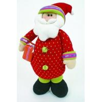 Wholesale Large Funky Knitted Santa With Present from china suppliers