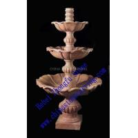 Wholesale red stone water fountain from china suppliers