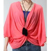 Wholesale New women lace bat sleeve t-shirt red top NO.MT015-014 RMB:298.00 from china suppliers