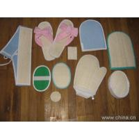 Wholesale loofah scrubber,loofah sponge,loofah slice.loofah sect,loofah mitt,loofah pad,loofah bath glove from china suppliers