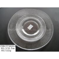 Wholesale Glass tray, Glass dishware from china suppliers