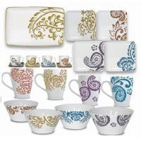 Wholesale Stoneware Spice Paisley set from china suppliers