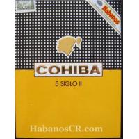 Cohiba Cigars Cohiba Siglo II - 5 Cigar Cases of 5