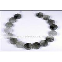 Wholesale CQ11 Cloudy quartz strand, 12mm twisted round, 15.5 inches per strand from china suppliers