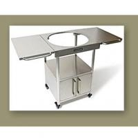 Wholesale Kamado Grills Stainless Steel Grill Table from china suppliers