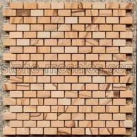 Buy cheap sandstone marble mosaic 39a from wholesalers