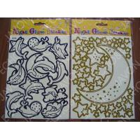 Wholesale Night Glow Misshapen Cutting Sticker from china suppliers