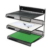Wholesale 3-TIER metal mesh file tray from china suppliers