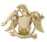 Wholesale 5 7/8 Inch American Eagle Door Knocker from china suppliers
