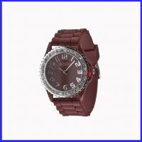 Wholesale fashione silicone watch with rhinestone from china suppliers