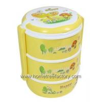 Wholesale Plastic Housewares HT00100003-Layer LUNCH BOX from china suppliers