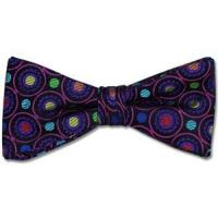 Wholesale Paul Williams Purple Eden Silk Bow Tie from china suppliers