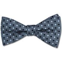 Wholesale Paul Williams Silver Galaxy Silk Bow Tie from china suppliers