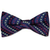 Wholesale Paul Williams Boomerang Dots Silk Bow Tie from china suppliers