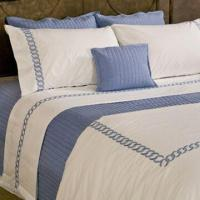 Wholesale Bed Linen with Embroidered Designs, Includes Duvet Cover and Pillow Cover, Pillow and Cushion from china suppliers