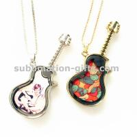 Buy cheap GT02 Custom Sublimation Women Charm Pendant Necklace from wholesalers