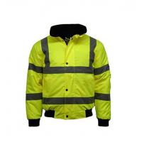 Wholesale Hi VIS Viz High Visibility Bomber Jacket Workwear from china suppliers