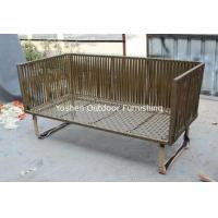 Wholesale 3 piece -2016 New designs lace fabric wooven sofa outdoor furniture-YS5736 from china suppliers